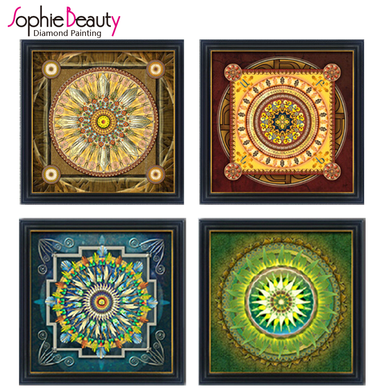 Sophie Beauty Brand Hot Diamond Cross Stitch Embroidery Full Needlework Diy Mosaic Paint ...