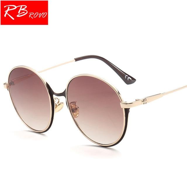 9a5c6331cc RBROVO 2018 Vintage Color Gradient Sunglasses For Women Men Hot Sale Fashion  Candy Color Sun Glasses Lady Eyewear UV400 Box