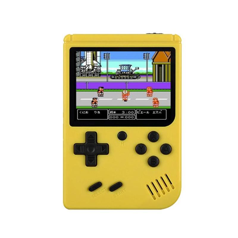 Game Console 8 Bit Retro Mini Pocket Handheld Player +Handle Built-in 168 Classic Games Best Gift for Child Nostalgic Player 10