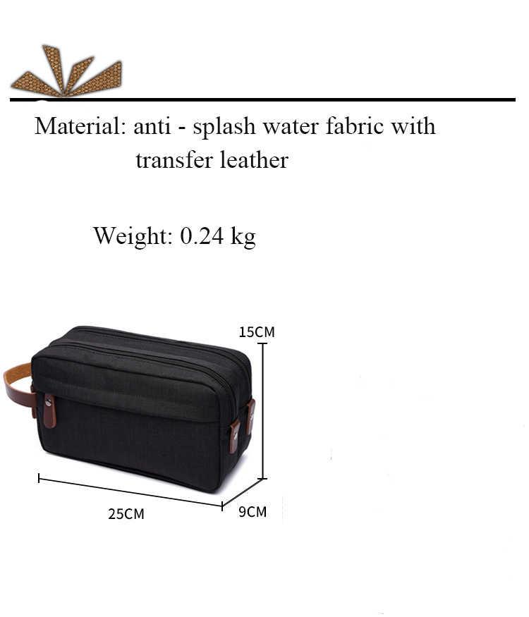 Novo saco de lona receber saco lavagem gargarejo saco portátil impermeável floco neve carteira à prova daiágua ai01