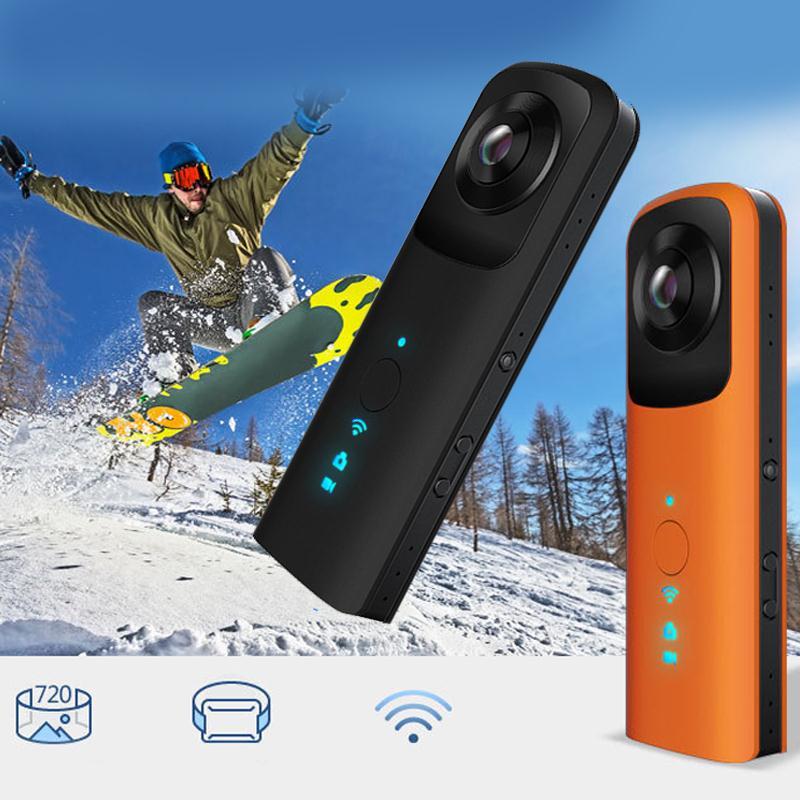 Cewaal Hot Profession WIFI Camera 720 Dual Lens HD 4 0MP WiFi Wireless VR Panoramic Camera