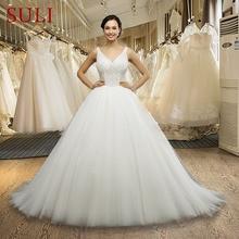 SuLi SL-042 Princess Ball Gown Wedding Dress Bride Dresses