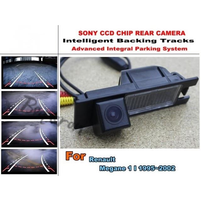 Для Renault Megane 1 I 1995 ~ 2002 Умные Треков Чип Камеры/HD CCD Интеллектуальный Динамический Парковка Сзади Автомобиля Камера вид