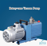 2XZ 0.5 220V Electrical Rotary vane Vacuum Pump 0.18KW Air Conditioner Production Use