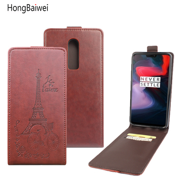 Oneplus 6 Case Flip PU Leather Case for OnePlus 5T 5 Luxury Wallet Cover Oneplus 6 Mobile Phone Bag Case Capa Oneplus 3 2 coque
