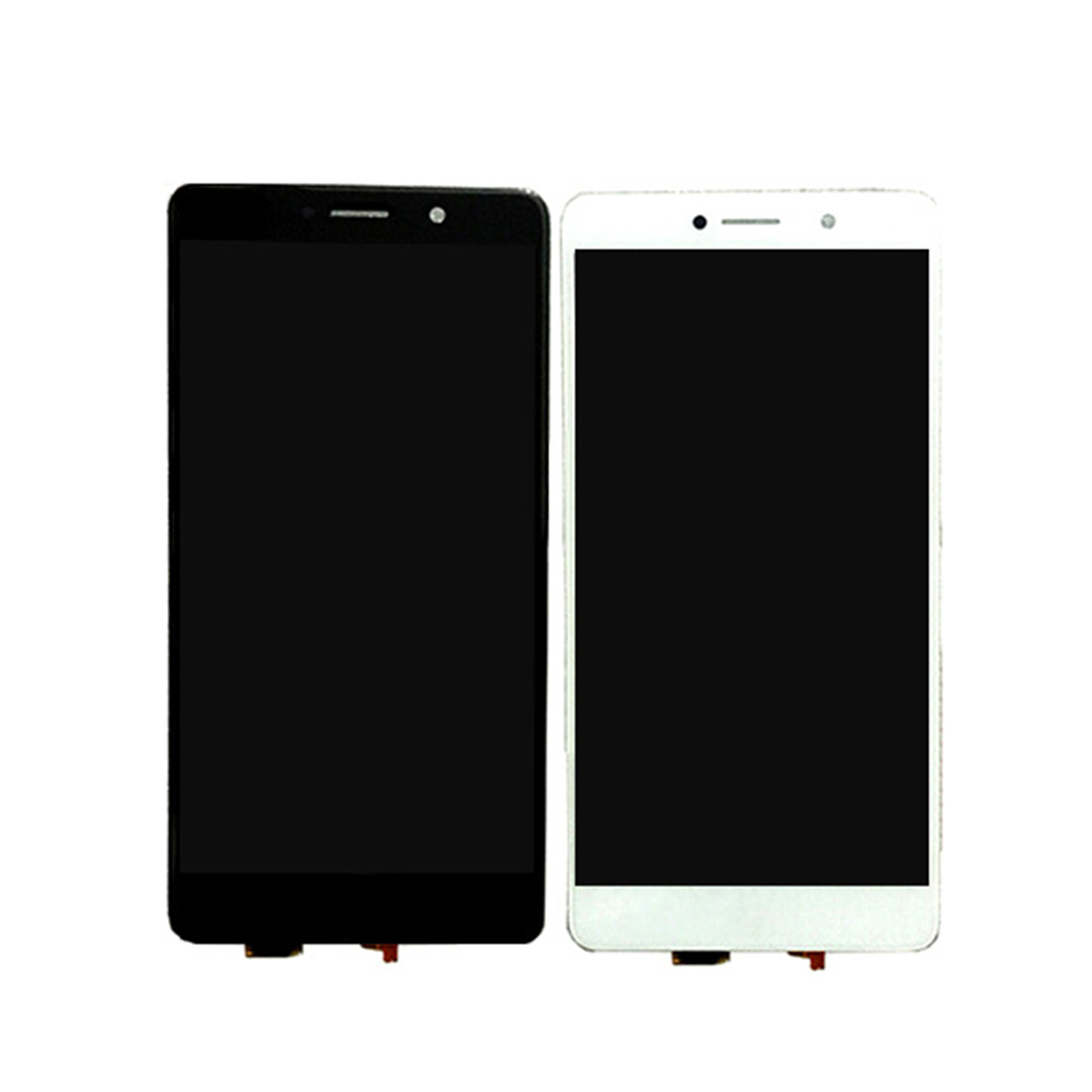 ФОТО 1PCS Black/White 5.5Inch LCD Display + Digitizer Touch Screen Replacement For Huawei Honor 6X Cell Phone Parts + Tools