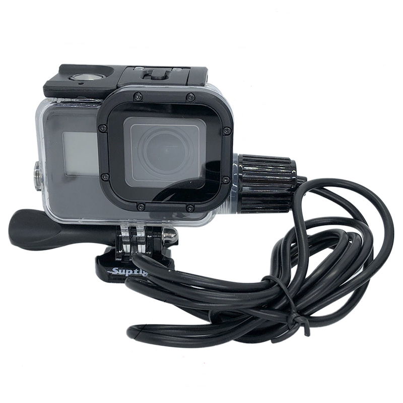 For Go Pro Camera Accessories Chargering Waterproof Housing Case Charger Shell With USB Cable For Gopro Hero 7 6 5 For Motocycle
