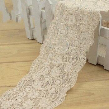 10 см черный белый кремовый Эластичный кружевной отделкой DIY аксессуары для одежды швейная ткань платье шорты украшение кружева