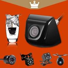 Câmera de Visão Traseira do carro Câmera de Visão Traseira Do Carro Do Carro do corpo de Metal Monitor de parque de Estacionamento de 170 Graus Mini Carro Câmera Reversa De Backup diodo emissor de luz