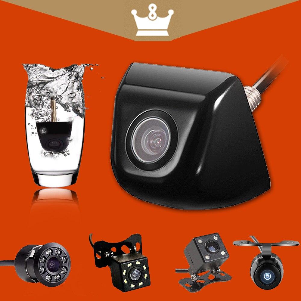 Vue Arrière de voiture Caméra Métal corps De Voiture Caméra de Recul De Voiture parc Moniteur 170 Degrés Mini Voiture Parking Caméra De Recul De Sauvegarde led