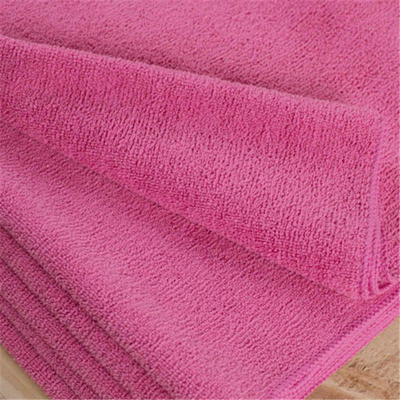 Boden reinigung tuch 30*80cm Rose farbe mikrofaser tuch handtuch Lappen ohne waschmittel Durch SGS zertifikat haben patent mopp hausschuhe
