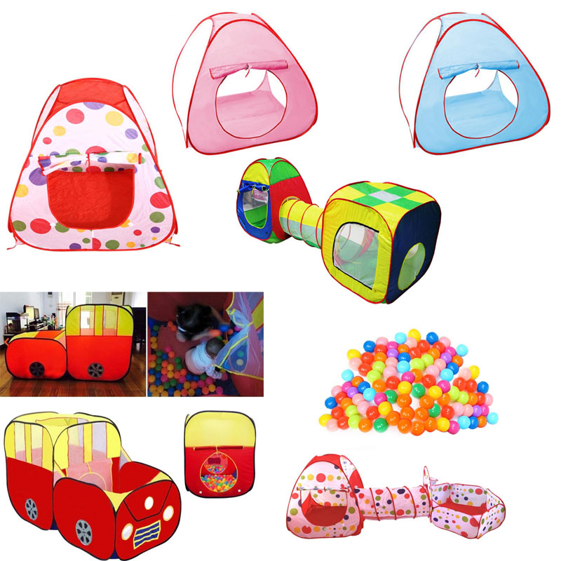 Baby Toys Tent Ball  Play Game Children's Tent Kids Cute Large Play House Outdoor Hut Children Toy Play Funny Tent  Ball Pool