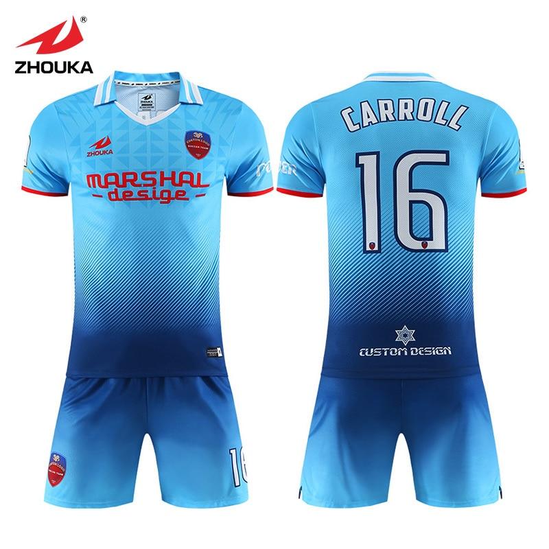 best loved 02b18 a6106 2019 new design Team soccer jerseys OEM custom football ...