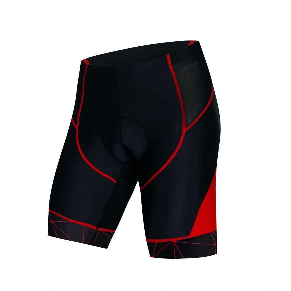 2019 calções de ciclismo da bicicleta dos homens curto acolchoado pro equipe mtb bicicleta inferior estrada juventude verde vermelho montanha shorts collants roupa interior