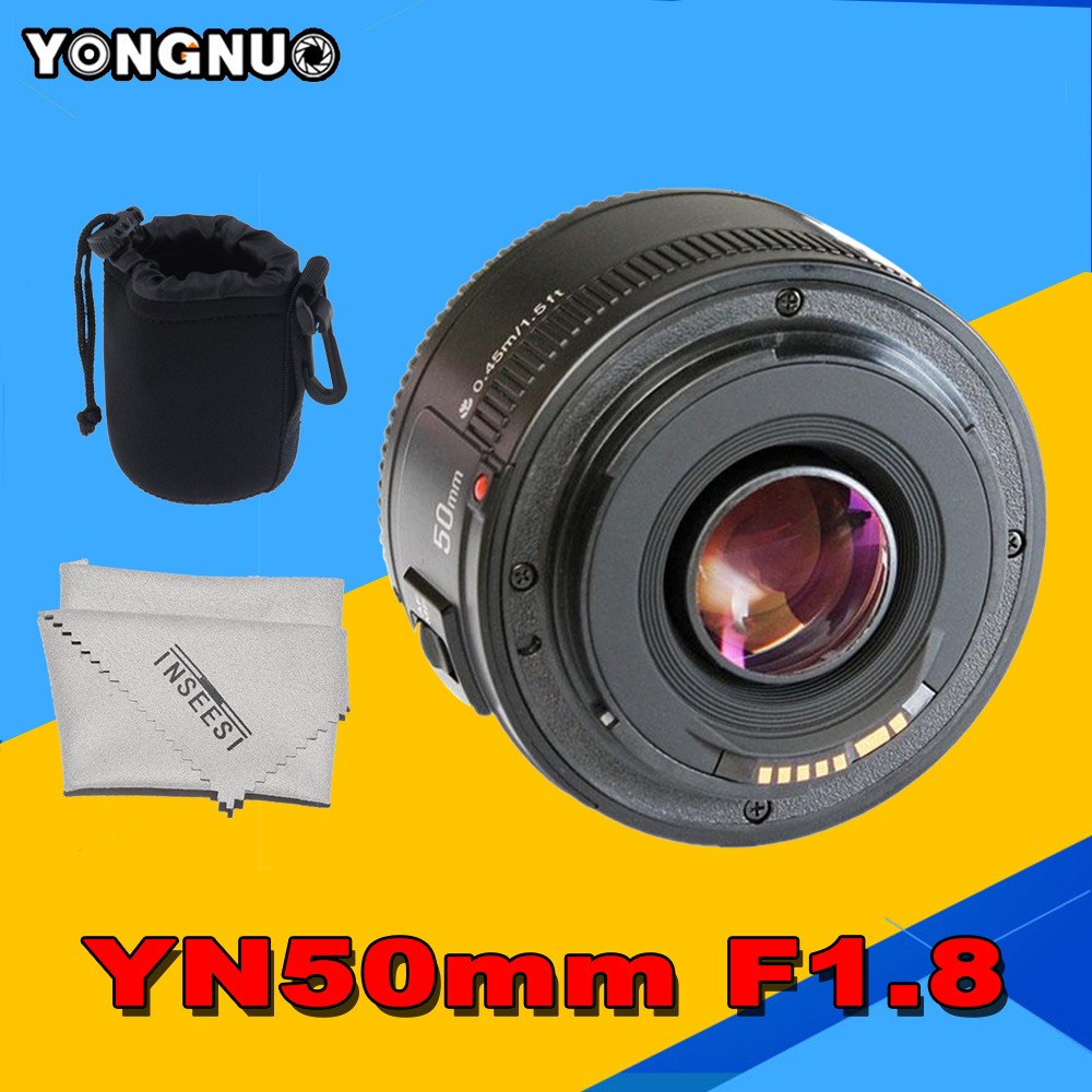 Yongnuo YN50mm F1.8  AF Standard Prime Lens Large Aperture Auto Focus Lens EF Mount Rebel DSLR For Nikon Camera As AF-S 50mm1.8G yongnuo yn 50mm f 1 8 af lens yn50mm aperture auto focus large aperture for nikon dslr camera as af s 50mm 1 8g gift kit page 9