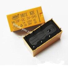 цена на 10PCS/HK19 relay 8 pins pcb relay / HK19F - DC 5 v
