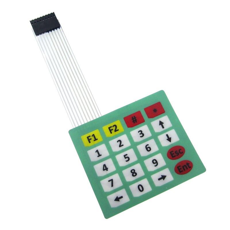 10PCS/LOT 4x5 Matrix Array 20 Key Membrane Switch Keypad Keyboard 4*5