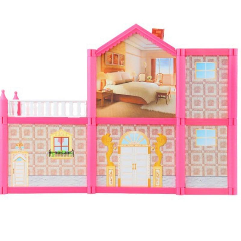Novi DIY Obiteljske lutke kuća lutke pribor igračka s minijaturnim - Lutke i pribor - Foto 3