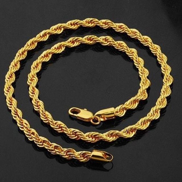 thick gold rope chains for men best chain 2018