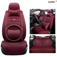 Yuzhe Leather Car Seat Cover For BMW E30 E34 E36 E39 E46 E60 E90 F10 F30