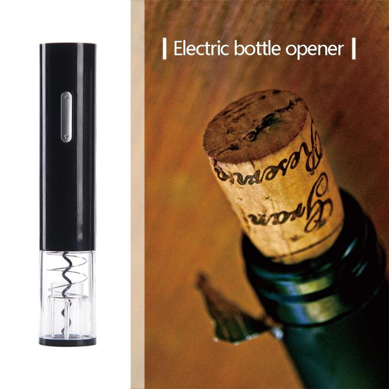 Protable Electric Wine Bottle Opener Corkscrew Automatic Champagne Bottle Opener Kit Foil Cutter Electric Wine Bottle OpenersProtable Electric Wine Bottle Opener Corkscrew Automatic Champagne Bottle Opener Kit Foil Cutter Electric Wine Bottle Openers