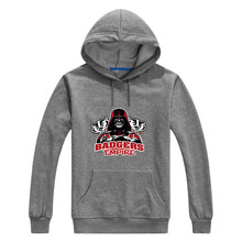 2017 College Wisconsin Badgers Empire  Star Wars Darth Vader Men Sweashirt Women warm hoodies 0104-8