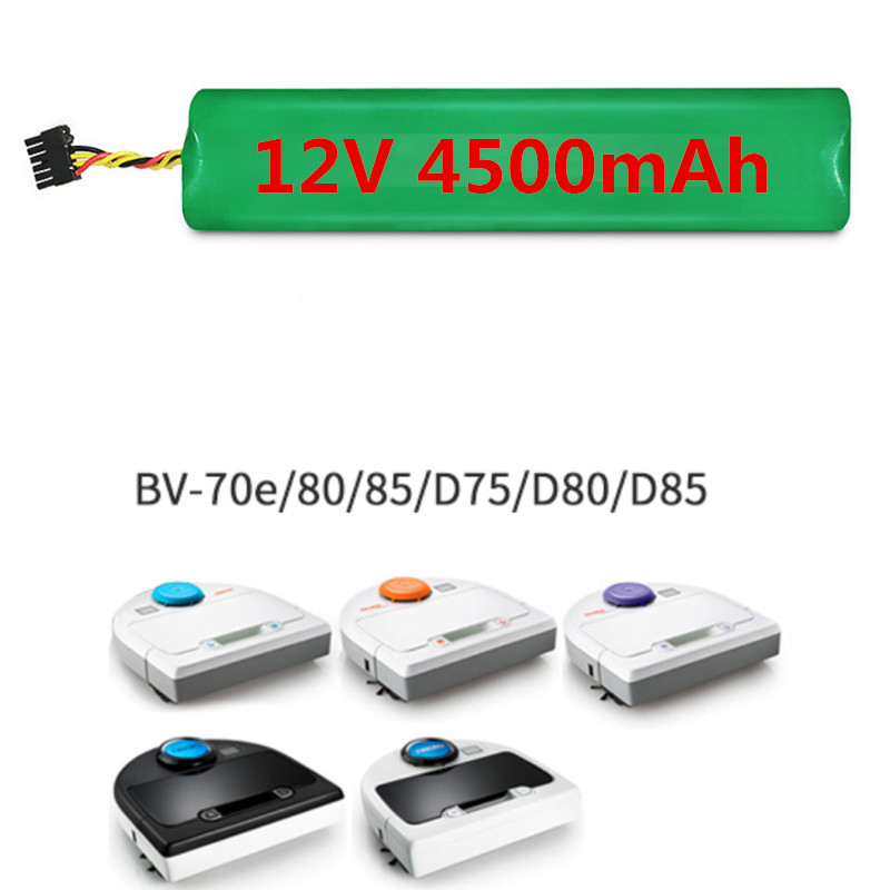 <font><b>12V</b></font> 4500mAh <font><b>4.5Ah</b></font> NI-MH New Replacement battery for Neato Botvac 70e 75 80 85 D75 D8 D85 Vacuum Cleaner battery image