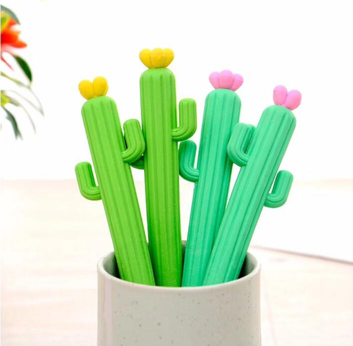 36pcs / Lot Novelty Cactus Eraser , Cartoon Cute Cactus Rubber Eraser For School Kids As Gift