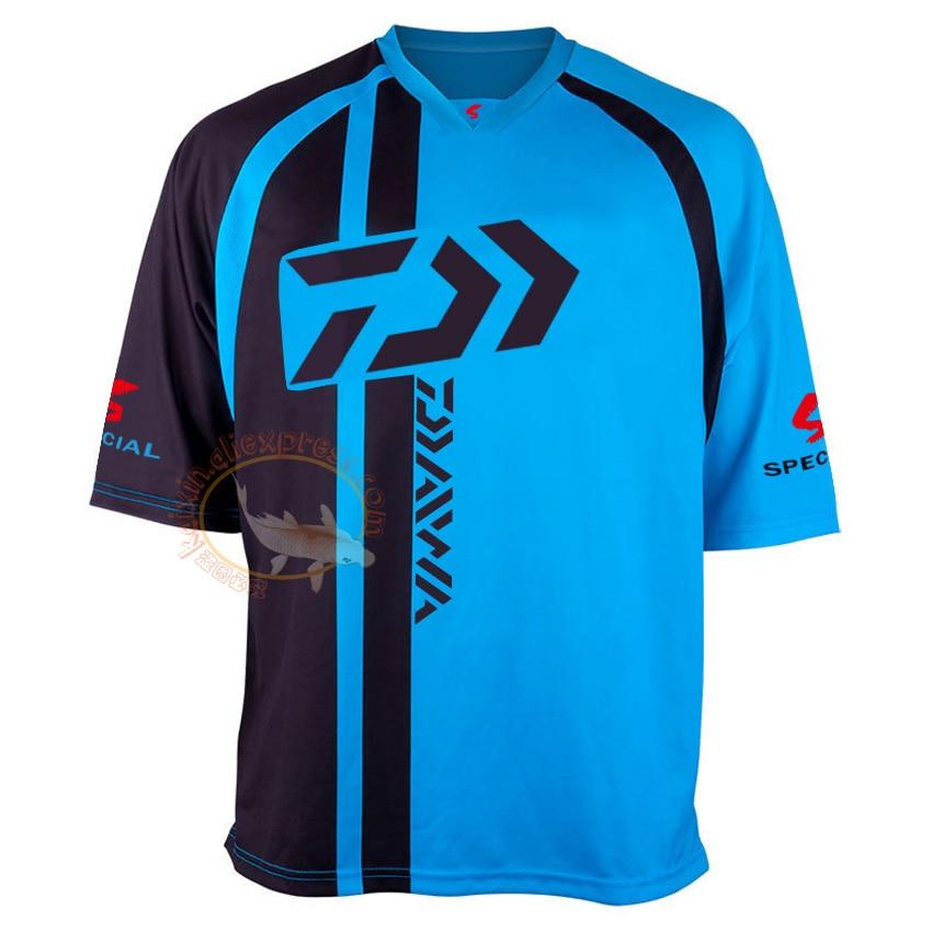 2019 Daiwa Quick Dry Atmungsaktive Anti-Uv Angeln T-shirt Im Freien Sport Kleidung Frauen Laufen Wandern T-Shirt Angeln Kleidung