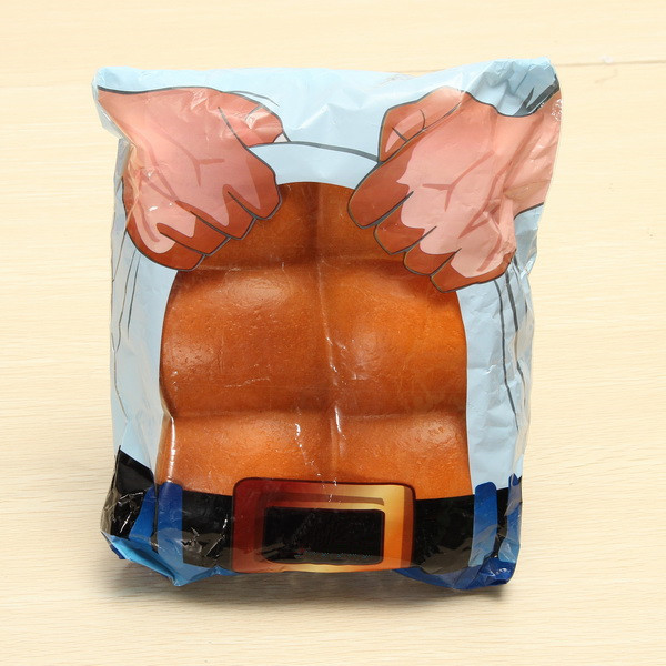 Eric Squishying Super Slow Stress Release Rising Abdominal Muscle Bread With Original Package