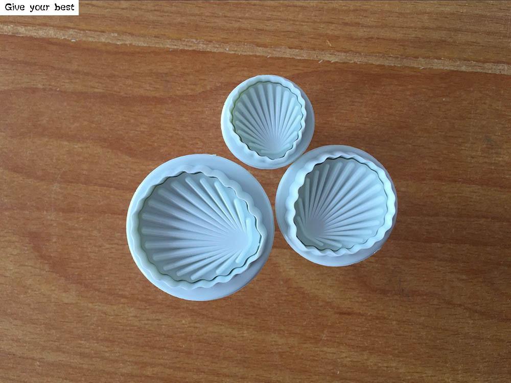 3 шт./компл. оболочки Форма весна инструментов для приготовления печенья Пластик вырубки для печенья пасты сахара Пресс Формы инструмент для украшения торта