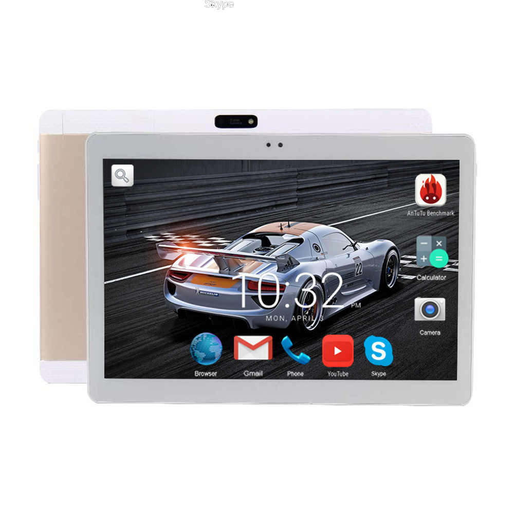 MTK8752 Octa Core Android Tablet PC 10 inch  2GB RAM 16GB ROM 8 Cores 1280*800 IPS 3G Phone Call Wifi Tablets 10 10.1+Gifts