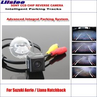 Liislee Intelligent Parking Tracks Reverse Car Rear Camera For Suzuki Aerio / Liana Hatchback / Original Style Backup Camera