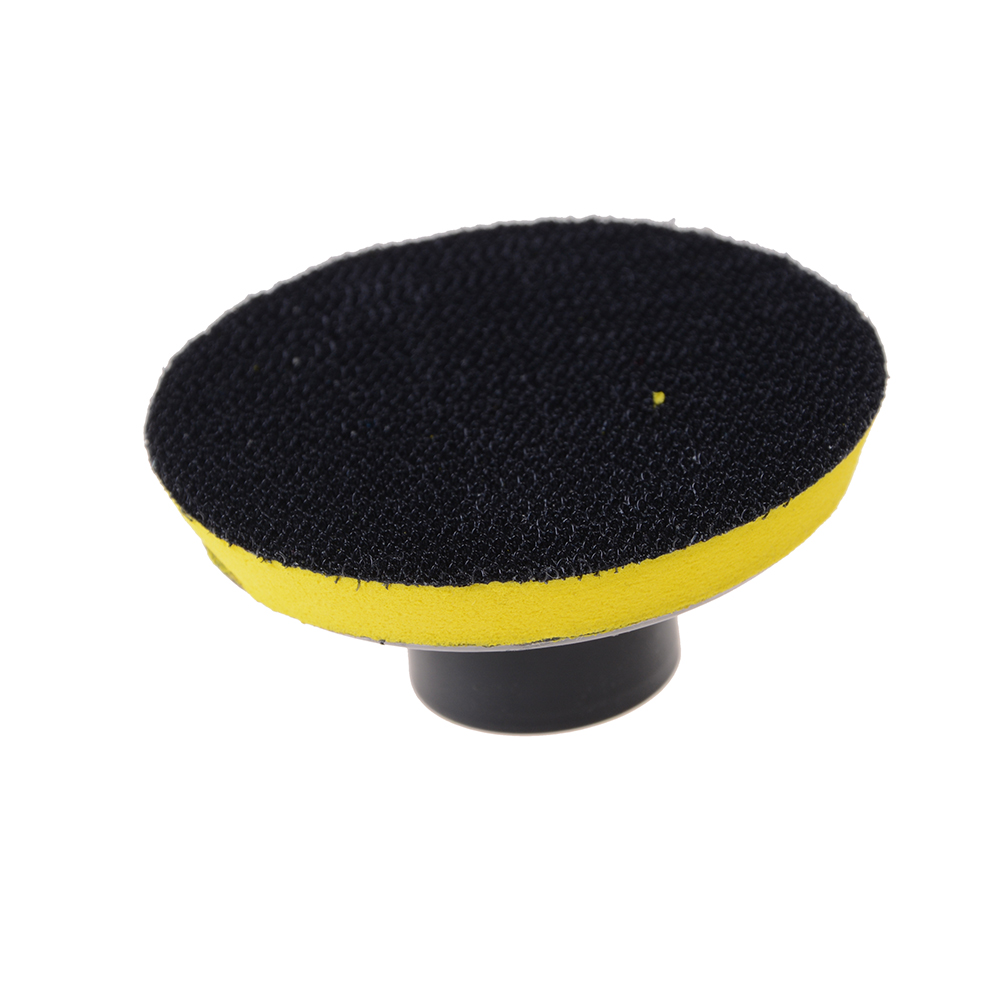 1 Piece Backing Plate 3 Inch Car M14 Backing Plate Pad Hook & Loop Polishing Buffing Pad Dia 80mm