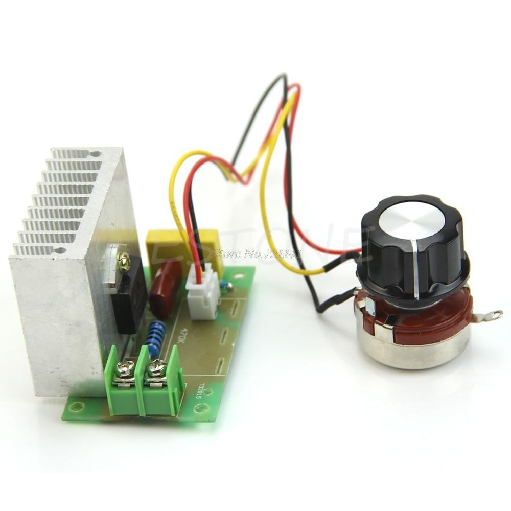 4000W High Power Thyristor Electronic Volt Regulator Speed Controller Governor4000W High Power Thyristor Electronic Volt Regulator Speed Controller Governor
