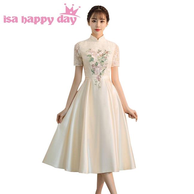 Us 3486 5 Offrobe De Elegant Women Popular Sexy Dressses For Special Occasions Vestidos Color Champagne Elegantes Prom Dress Sale H4285 In Prom