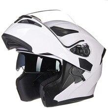 Double lens Modular Motorcycle helmet Classic flip up motorbike helmet
