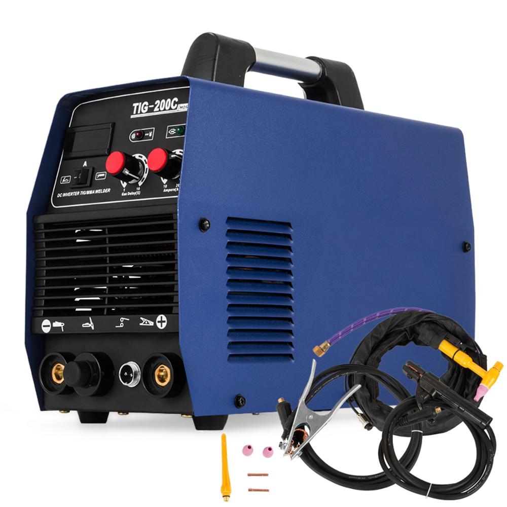 TIG-200C Inverter Welding Machine  Argon-arc Welding Machine  Free Shipping To Europe