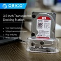 ORICO 2.53.5 Transparent Design USB3.0 To SATA3.0 HDD Docking Station Support 8 TB Hard Disk Drive Tool Free For Notebook PC