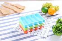 1PC Ice Cream Mold Lolly Moulds Freezer Bar Molds with Popsicle Sticks lattice OK 0812