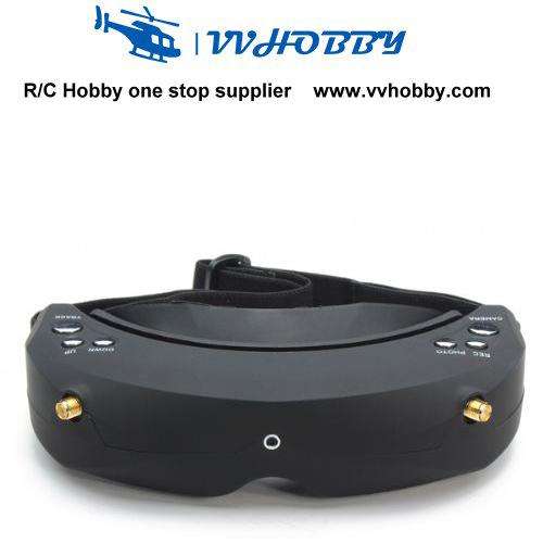 NEW & hot Skyzone RC Racing drone Only Video SKY02 SKY02S V3 5.8G 40CH AIO 3D Head Tracing FPV Goggles only kit skyzone sky rc500 5 8g 40ch 5inch 300cd fpv monitor for racing drone