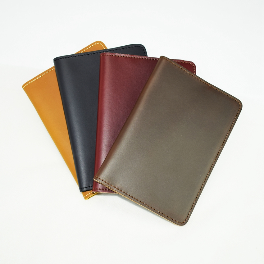Bird Branch Crest Leather Passport Holder Cover Case Travel One Pocket