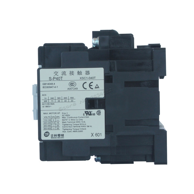 Online Shop AC Contactor AC24V 380V 220V 110V S-P40T coil contactors ...