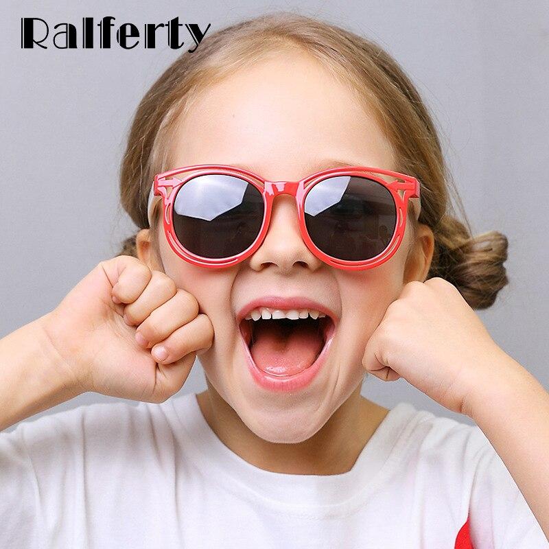Ralferty Unbreakable Kids Sunglasses Polarized 2019 New TR90 Boy Girl Baby Infant Sun Glasses UV400 Eyewear Child Shades K8209
