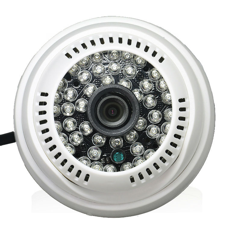Image 3 - YiiSPO AHD 720P 1080P IR Mini Dome Camera 1MP 2MP 3MP 4MP AHD Camera indoor IR CUT 48LEDS Night Vision-in Surveillance Cameras from Security & Protection