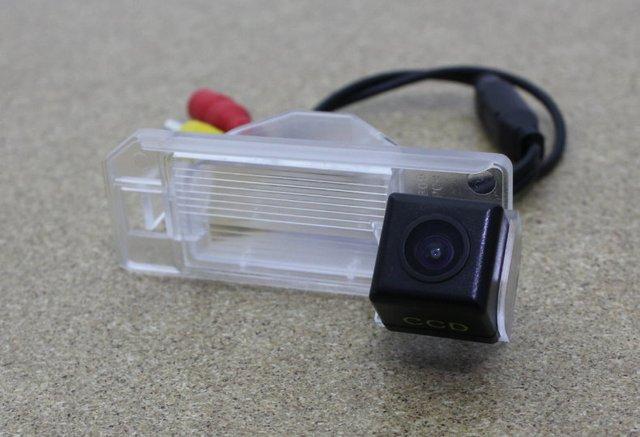 Para mitsubishi outlander sport 2010 ~ 2015 cámara del estacionamiento del coche/de visión trasera cámara/CCD HD Visión Nocturna + copia de seguridad de Cámara de Marcha Atrás