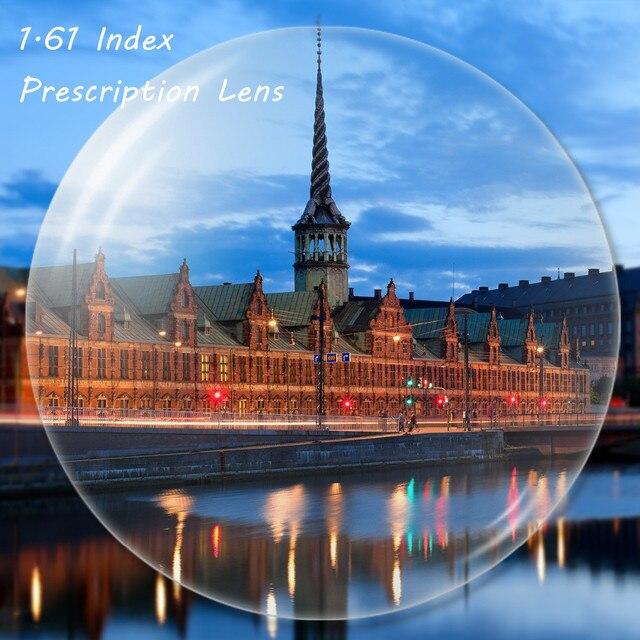 Пользовательские 1.61 Индекс Рецепту Линзы Асферические Очки Линзы для Близорукости Дальнозоркость Пресбиопии Очки Линзы LS001