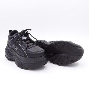Image 5 - Comfabea 2020 Wiggen Schoenen Voor Vrouwen Lente Sneakers Dikke Bodem Flats Platform Schoenen Casual Dames Creeper Punk Schoenen