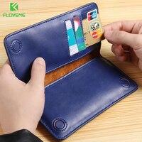 FLOVEME 5 5 Inch Universal Wallet Pouch Case Xiaomi Mi5 Mi5s Plus Card Slot Phone Cases