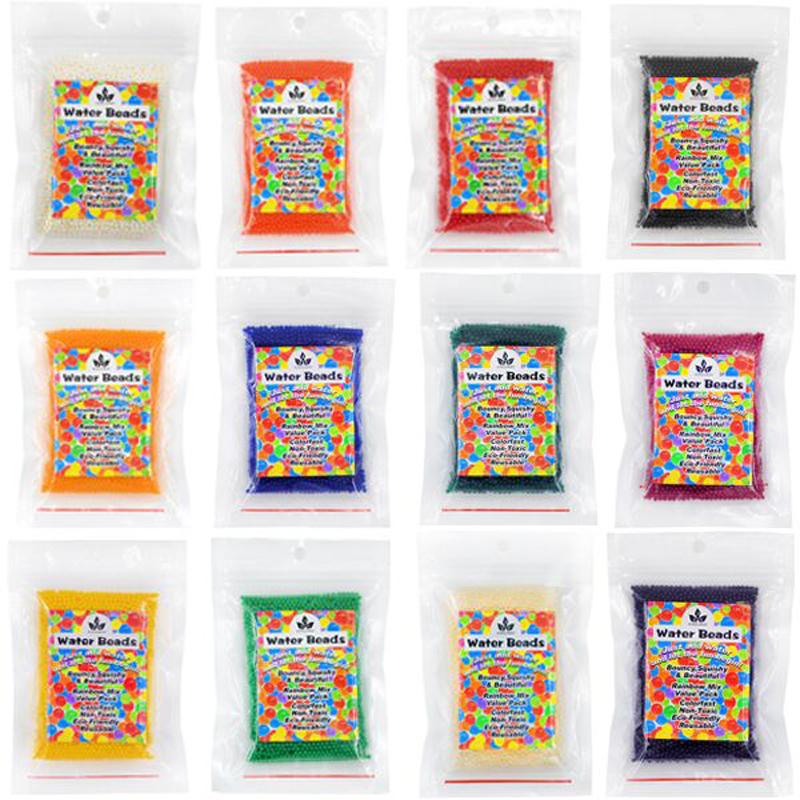 Party Favors Water Beads Mud Grow Jewels Treasure Chest Pirate Party Decorations Acrylic Crystal